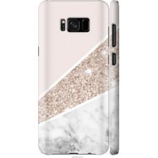 Чехол на Galaxy S8 Plus Пастельный мрамор (4342c-817)
