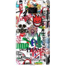 Чехол на Samsung Galaxy S8 Many different logos (4022c-829)