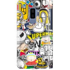 Чехол на Samsung Galaxy S9 Plus Popular logos (4023c-1365)
