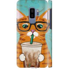 Чехол на Samsung Galaxy S9 Plus Зеленоглазый кот в очках (4054c-1365)