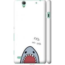 Чехол на Sony Xperia C4 E5333 Акула (4870c-295)