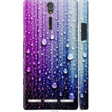 Чехол на Sony Xperia S LT26i Капли воды (3351u-86)