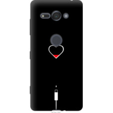 Чехол на Sony Xperia XZ2 Compact H8324 Подзарядка сердца (4274u-1381)