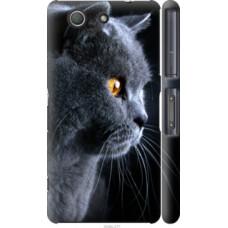 Чехол на Sony Xperia Z3 Compact D5803 Красивый кот (3038c-277)