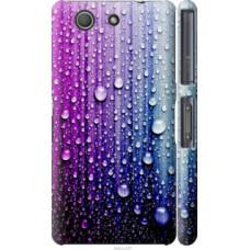 Чехол на Sony Xperia Z3 Compact D5803 Капли воды (3351c-277)