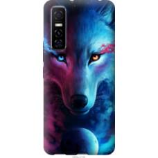 Чехол на Vivo Y73S Арт-волк (3999u-2159)