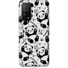 Чехол на Xiaomi Mi 10T Панды (4318c-2096)