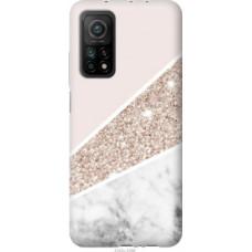Чехол на Xiaomi Mi 10T Пастельный мрамор (4342c-2096)