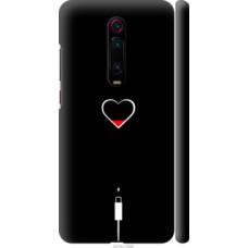 Чехол на Xiaomi Redmi K20 Pro Подзарядка сердца (4274c-1816)