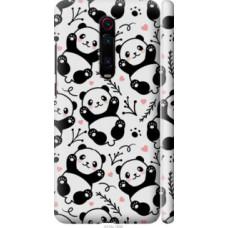 Чехол на Xiaomi Redmi K20 Pro Панды (4318c-1816)