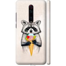 Чехол на Xiaomi Redmi K20 Pro Енотик с мороженым (4602c-1816)
