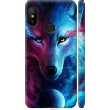 Чехол на Redmi 6 Pro Арт-волк (3999c-1595)