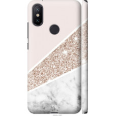 Чехол на Xiaomi Mi A2 Пастельный мрамор (4342c-1481)