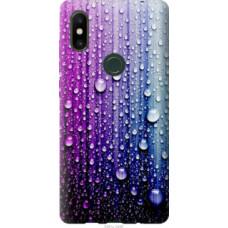Чехол на Xiaomi Mi Mix 2s Капли воды (3351u-1438)