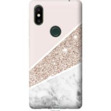 Чехол на Xiaomi Mi Mix 2s Пастельный мрамор (4342u-1438)