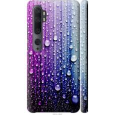 Чехол на Xiaomi Mi Note 10 Капли воды (3351c-1820)
