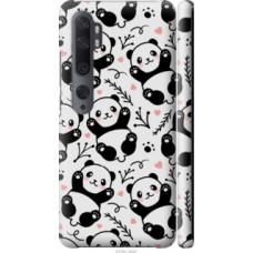 Чехол на Xiaomi Mi Note 10 Панды (4318c-1820)