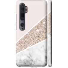 Чехол на Xiaomi Mi Note 10 Пастельный мрамор (4342c-1820)
