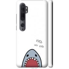 Чехол на Xiaomi Mi Note 10 Акула (4870c-1820)