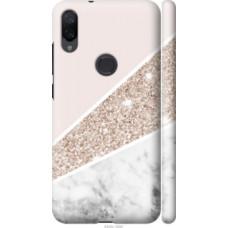 Чехол на Xiaomi Mi Play Пастельный мрамор (4342c-1644)