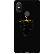 Чехол на Xiaomi Mi8 SE Черная клубника (3585u-1504)
