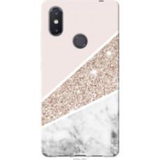 Чехол на Xiaomi Mi8 SE Пастельный мрамор (4342u-1504)