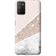 Чехол на Xiaomi Poco M3 Пастельный мрамор (4342u-2200)