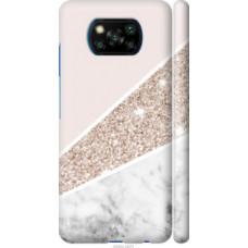 Чехол на Xiaomi Poco X3 Пастельный мрамор (4342c-2073)
