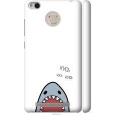 Чехол на Xiaomi Redmi 3 Pro Акула (4870c-341)