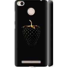 Чехол на Xiaomi Redmi 3x Черная клубника (3585c-441)