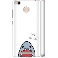 Чехол на Xiaomi Redmi 3x Акула (4870c-441)