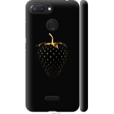 Чехол на Xiaomi Redmi 6 Черная клубника (3585c-1521)