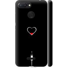 Чехол на Xiaomi Redmi 6 Подзарядка сердца (4274c-1521)
