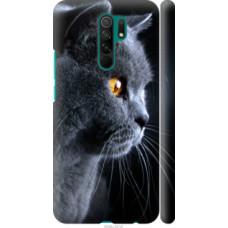 Чехол на Xiaomi Redmi 9 Красивый кот (3038c-2019)