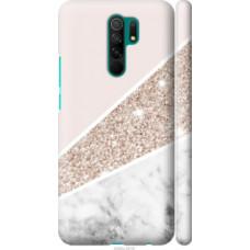 Чехол на Xiaomi Redmi 9 Пастельный мрамор (4342c-2019)