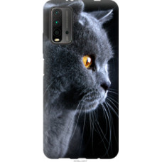 Чехол на Xiaomi Redmi 9T Красивый кот (3038u-2257)