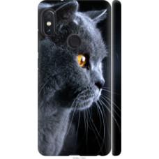 Чехол на Xiaomi Redmi Note 5 Красивый кот (3038c-1516)