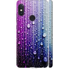 Чехол на Xiaomi Redmi Note 5 Капли воды (3351c-1516)