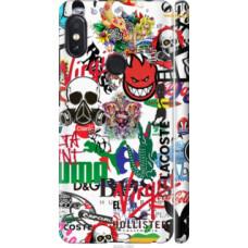 Чехол на Xiaomi Redmi Note 5 Many different logos (4022c-1516)