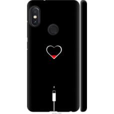 Чехол на Xiaomi Redmi Note 5 Подзарядка сердца (4274c-1516)