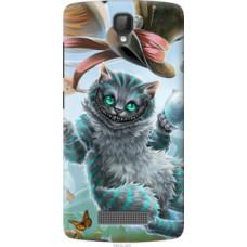Чехол на ZTE L5 Чеширский кот 2 (3993u-429)