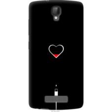 Чехол на ZTE L5 Подзарядка сердца (4274u-429)